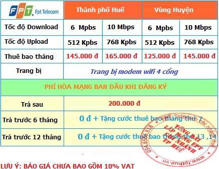 Lắp mạng FPT ADSL