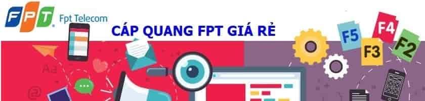 Cáp quang FPT giá rẽ dành cho hộ gia đình