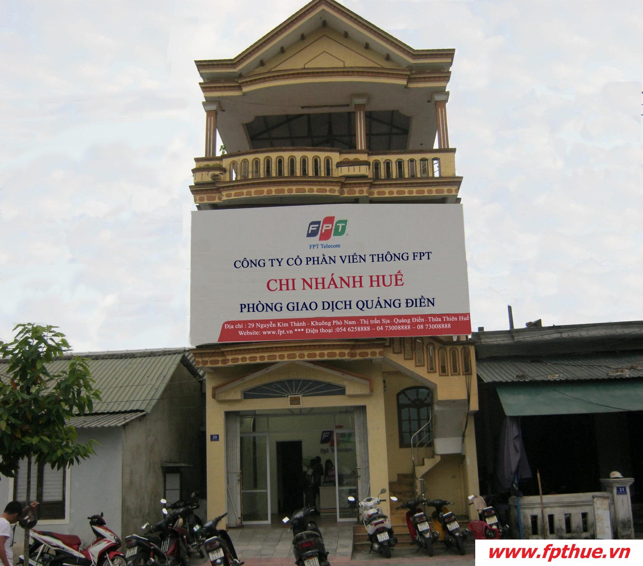 FPT chi nhánh Quảng Điền