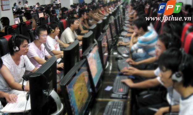 Lắp mạng cáp quang FPT cho quán kinh doanh Internet, tiệm game Online