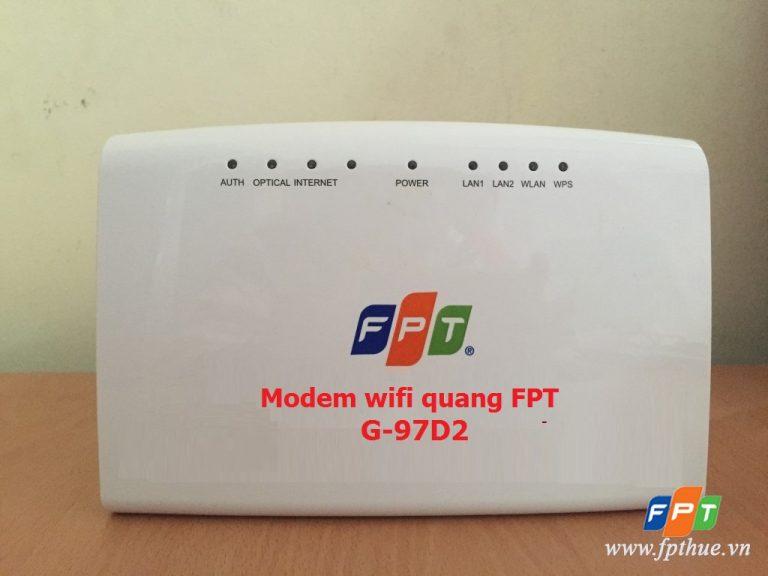 Hướng dẫn đổi mật khẩu Wi-fi modem quang FPT G-97D2