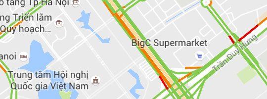 Làm thế nào để theo dõi tắc đường bằng Google Maps tại Việt Nam ?