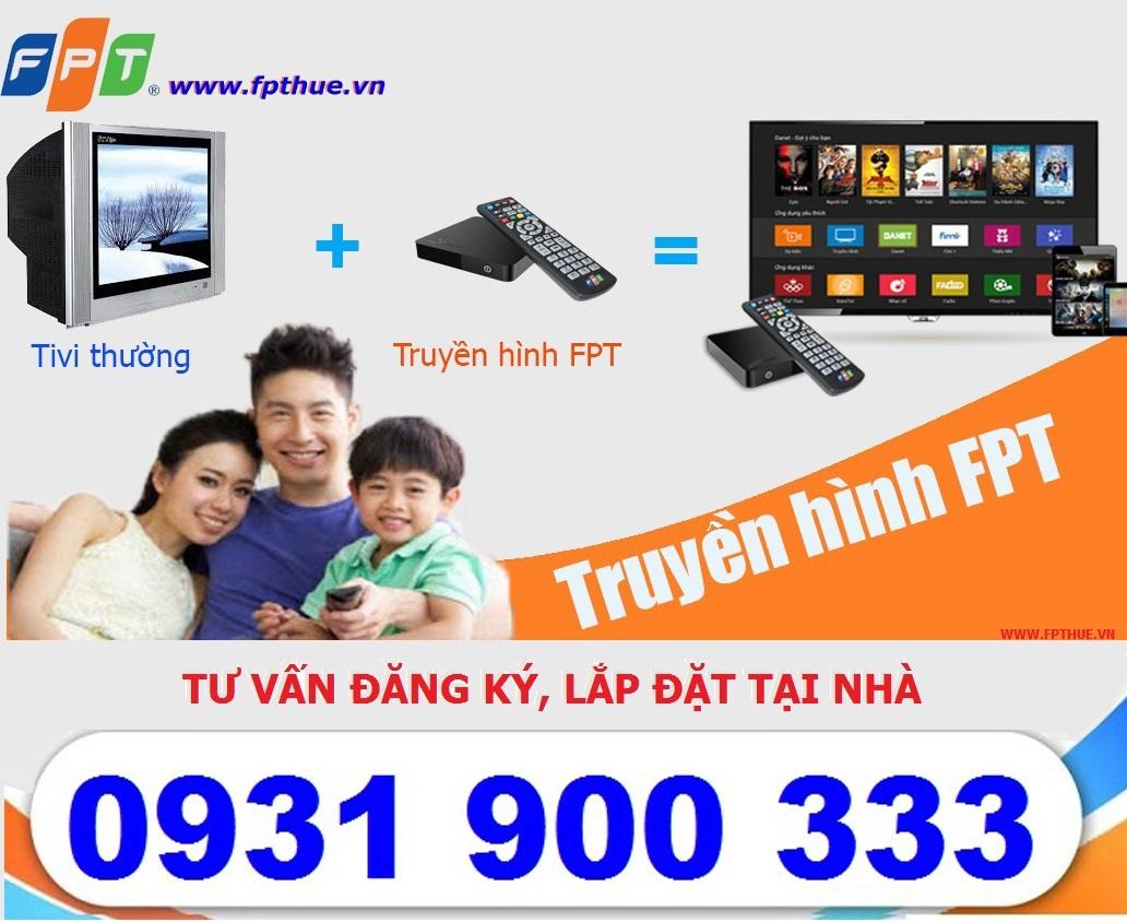 Truyền hình FPT- truyền hình HD công nghệ IPTV