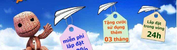 Lắp mạng FPT khuyến mãi tại Huế