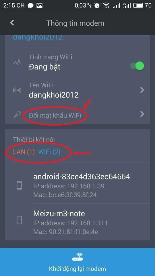 Hướng dẫn đổi mật khẩu WiFi FPT bằng ứng dụng Hi-FPT