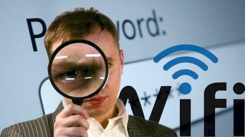Quên mật khẩu wifi