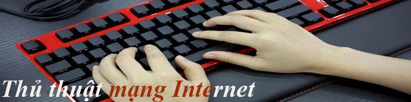 Thu thuật mạng Internet FPT