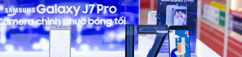 Mua Galaxy J7 Pro với ưu đãi trả góp 0% lãi suất chỉ có tại FPT Shop