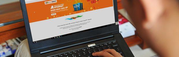 Lần đầu tiên tại Việt Nam, khách hàng sử dụng Internet và Truyền hình FPT có thể thanh toán cước tự động với tiện ích AutoPay.