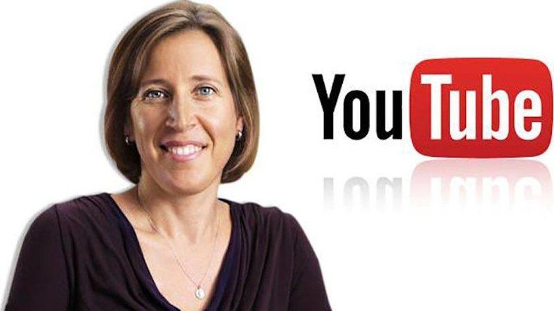 CEO của Youtube, bà Susan Wojcicki phát biểu